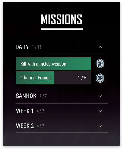 Introducing Missions